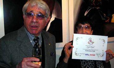 Luigi Magni, laurea in Carbonara honoris causa