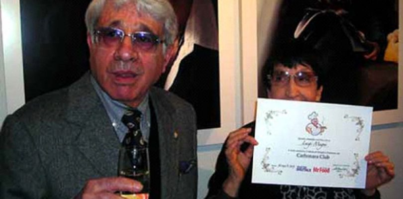 Luigi Magni, laurea in Carbonara honoris causa
