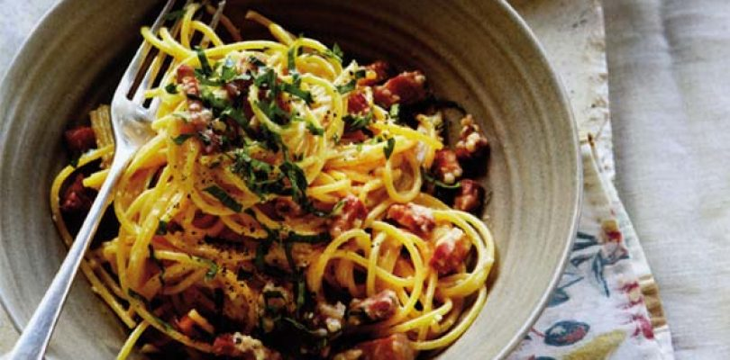 Delicious: l'altra Carbonara, politically correct
