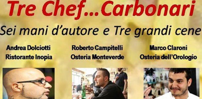 Andrea, Roberto, Marco: i 3 moschettieri della Carbonara