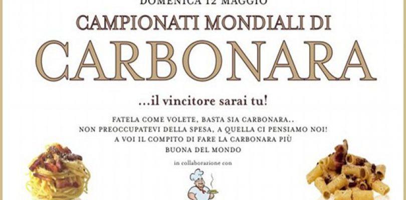Campionati Mondiali di Carbonara, ed è subito record!