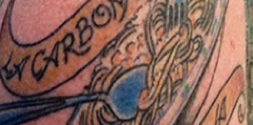 Carbonara-tattoo, l'ultima frontiera del gusto