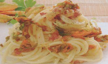 Fiori di zucca e non solo: la ricetta di Un mese in Cucina