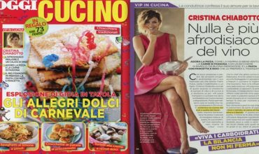 Cristina Chiabotto, testimonial della buona tavola