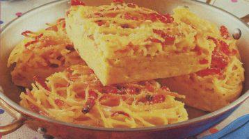 Di Più Cucina, frittata di spaghetti alla carbonara (e non solo)