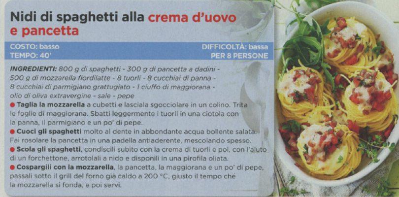 Oggi Cucino: nidi di spaghetti e cappellacci… con un tocco di carbonara