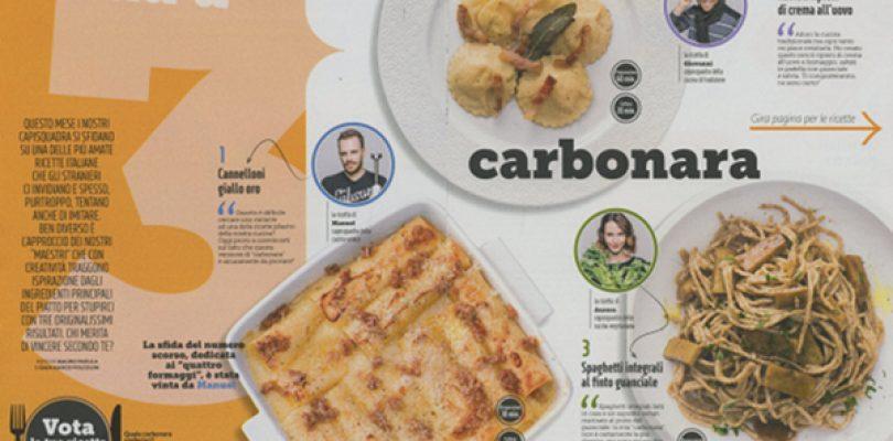 "Giallo Zafferano: ""cucina con noi la carbonara""… o quasi"