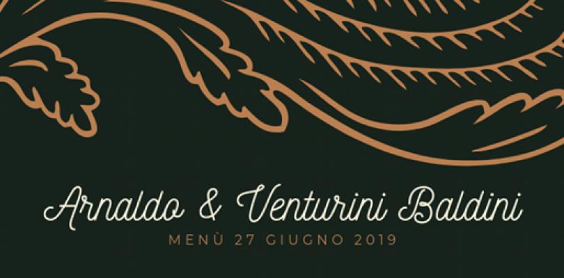 Arnaldo e Venturini Baldini, il bel matrimonio
