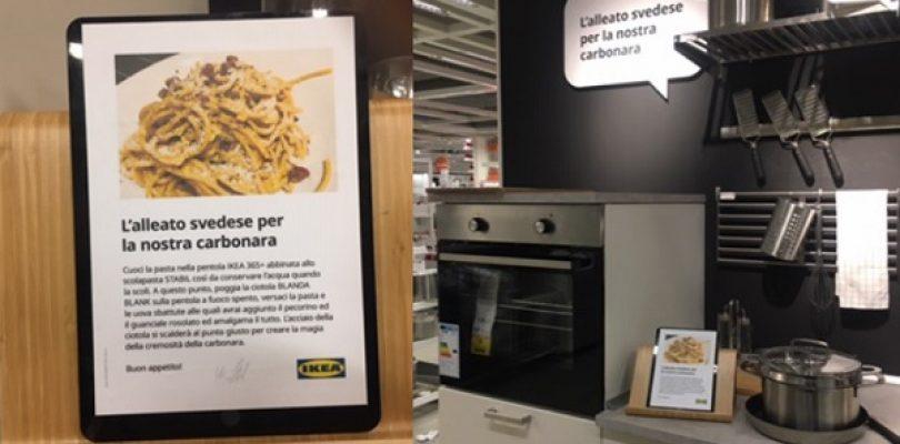 Ikea, un alleato svedese per la nostra carbonara