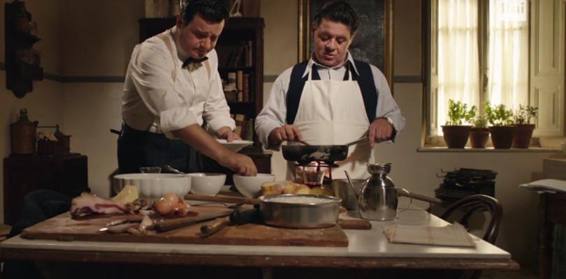 Sordi e Fabrizi in cucina: una lezione di carbonara