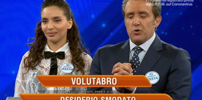 """Flavio Insinna e il """"volutabro di carbonara"""""""