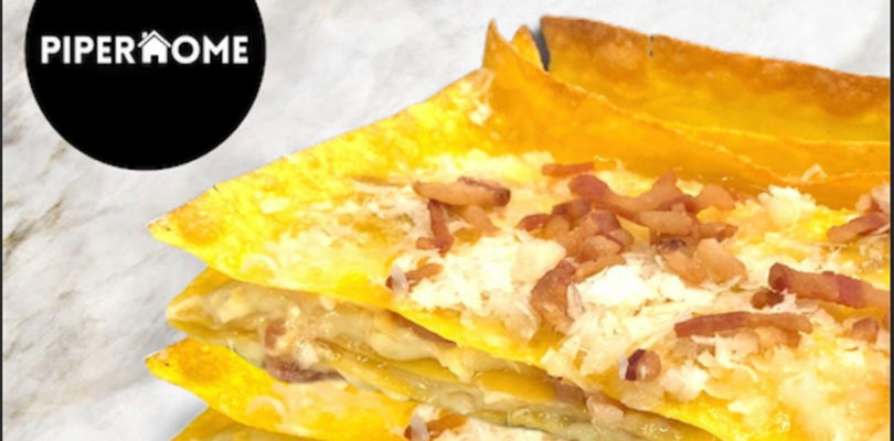 Carbonara lasagna Piperohome