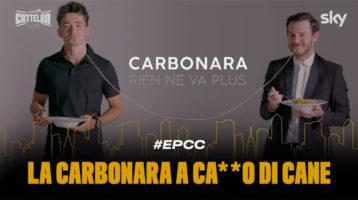 Cattelan Leclerc spot Carbonara