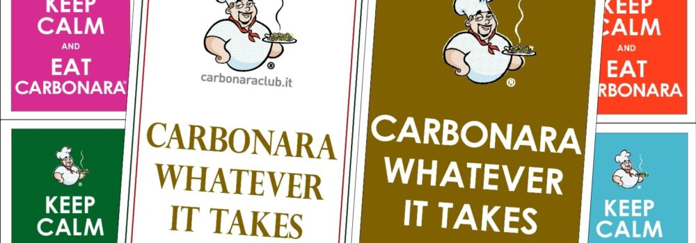 Carbonara whatever it takes