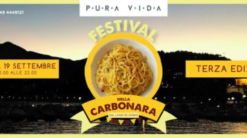 Festival Della Carbonara Sul Lago Di Como 3a Edizione